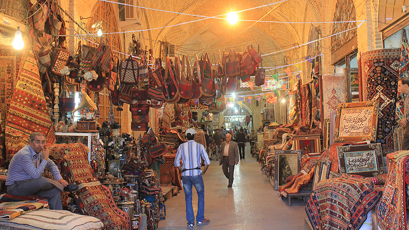 Bazar in Shiraz
